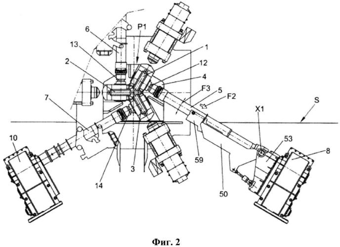 Вал привода для передачи движения на валок
