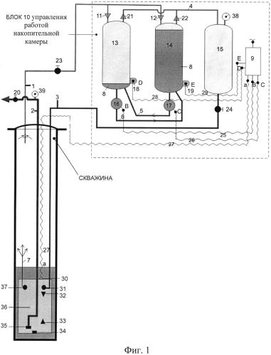 Глубинное пневмоприводное насосное устройство