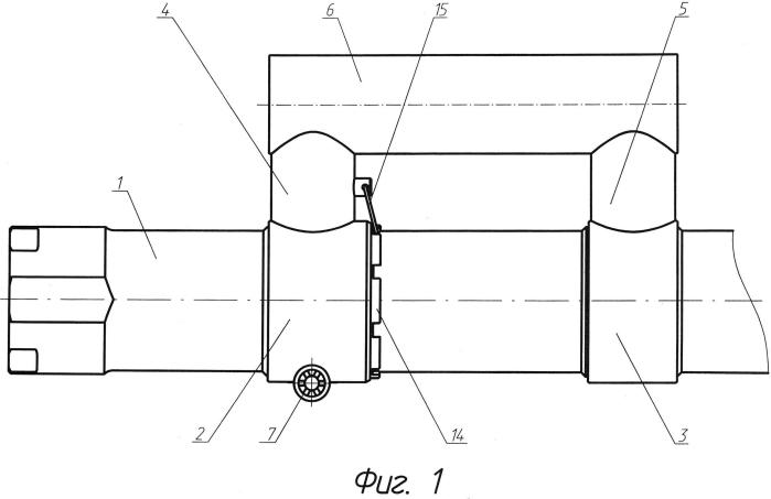 Надульное устройство орудийного ствола