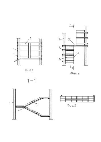Автоматизированный технологический модуль опалубки для бетонирования лестничных площадок и маршей (атм-4)