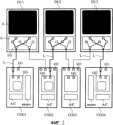 Система авионики с тремя экранами отображения для летательного аппарата