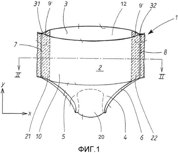 Впитывающее изделие, имеющее многослойный боковой шов, и соответствующий способ изготовления