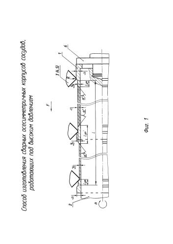 Способ изготовления сварных осесимметричных корпусов сосудов, работающих под высоким давлением