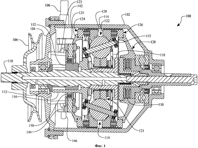 Механизм переключения для бесступенчатой коробки передач