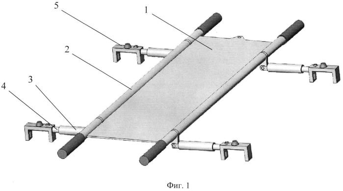 Спасательное средство для транспортировки пострадавших по эскалаторам