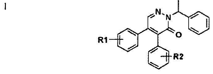 Производные диарилпиридазинона, их получение и применение для лечения людей
