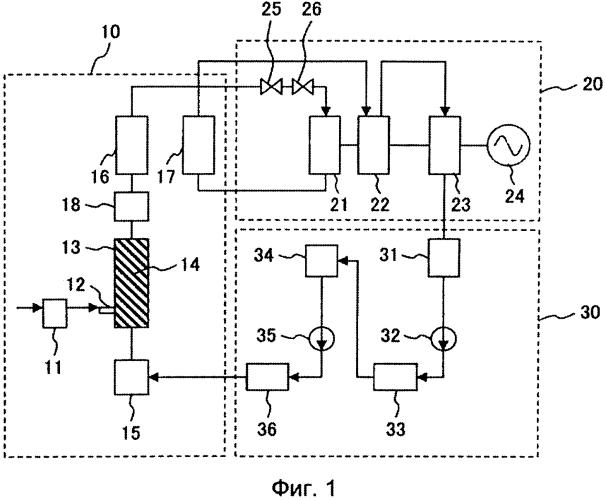 Высокотемпературная паросиловая установка докритического давления и высокотемпературный прямоточный котел докритического давления, работающий при переменном давлении