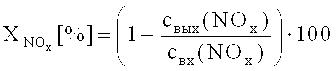 Катализатор для удаления оксидов азота из отработавших газов дизельных двигателей