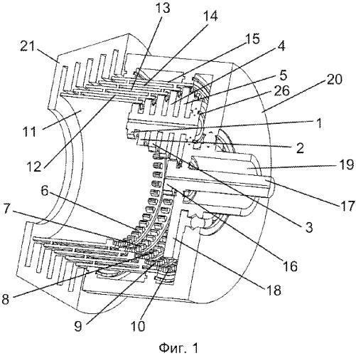 Планетарная коробка передач с наружным расположением тормозной муфты
