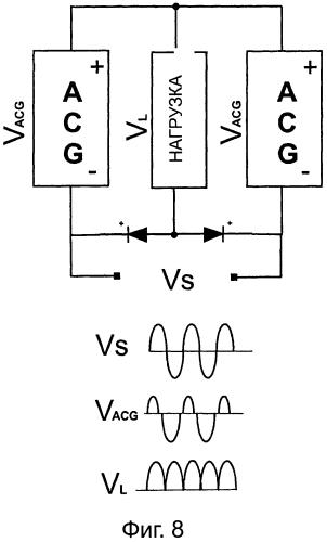 Схема, адаптированная для подачи напряжения к электронному устройству, и ее применение