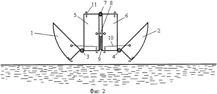 Способ возведения понтонно-мостовой переправы