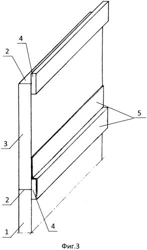 Стеновая ламельная панель