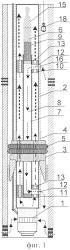 Установка с механическим клапаном гарипова для одновременно-раздельной эксплуатации погружным насосом и способ ее эксплуатации