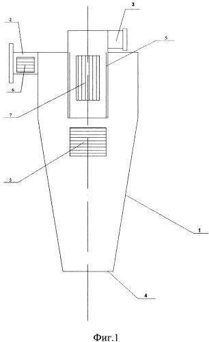 Устройство для дегазации воздушных сред, содержащих мелкую твердую фракцию