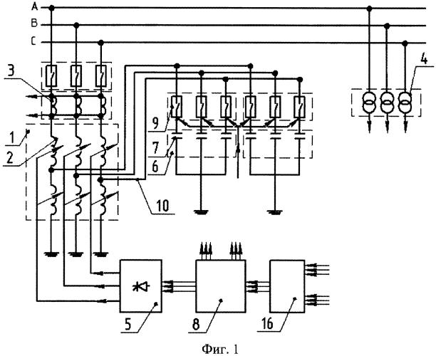 Устройство регулирования реактивной мощности электрической сети (варианты)