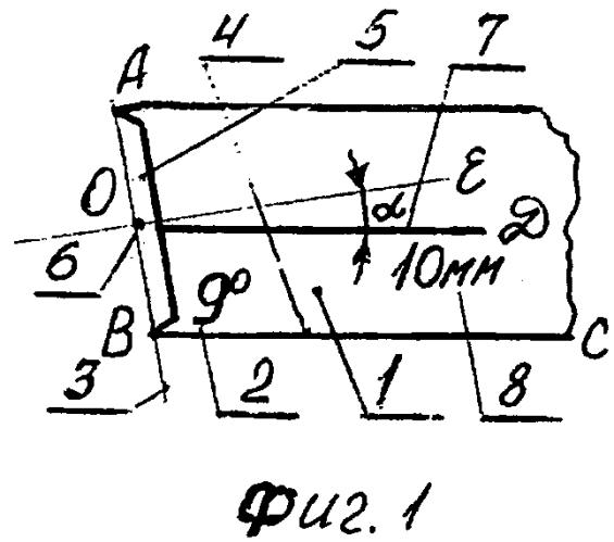 Способ центрирования углового шаблона, центрированный угловой шаблон (варианты) и способ его настройки (варианты)