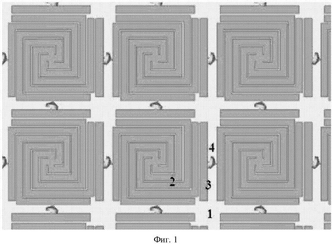 Частотно-селективная высокоимпедансная поверхность на основе метаматериала