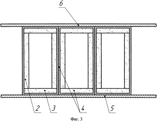 Способ изготовления промежуточных опорных фундаментных конструкций из полимерных композиционных материалов