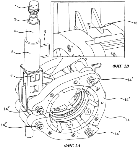 Инструмент и способ для нештатного отсоединения зажимного соединительного устройства под водой