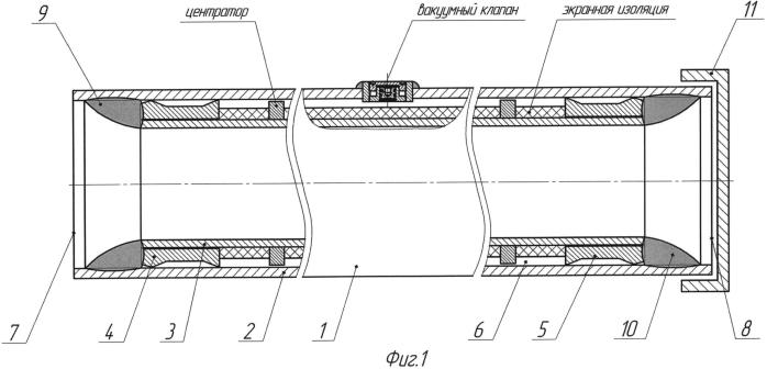 Способ изготовления теплоизолированной лифтовой трубы