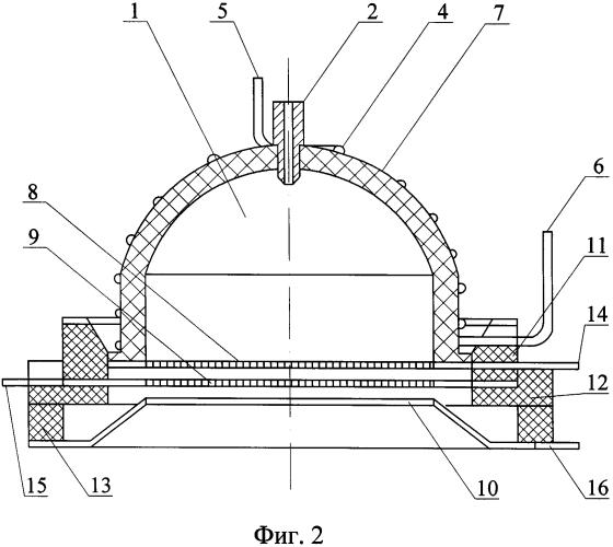 Газоразрядный узел высокочастотного ионного двигателя
