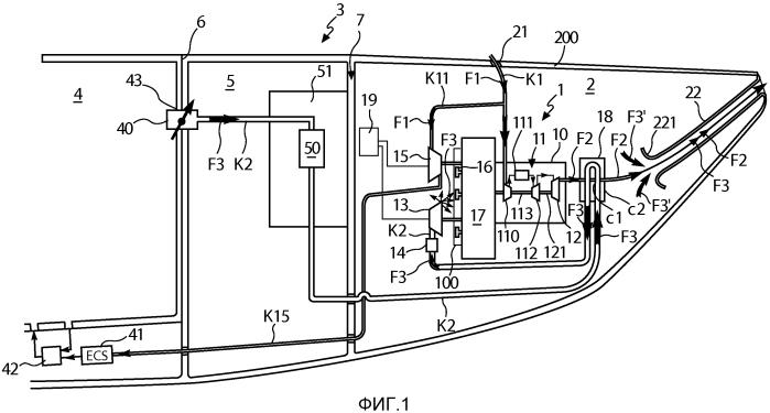 Способ оптимизации общей энергетической эффективности летательного аппарата и основная силовая группа для осуществления