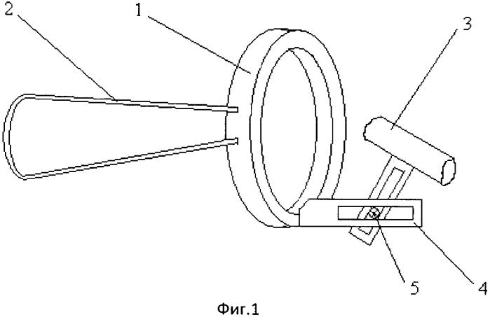 Тренажер-визуалайзер для медных духовых инструментов с воронкообразными мундштуками