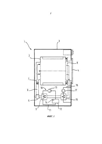 Бытовой прибор, в частности, сушильная машина для белья с накопителем скрытой теплоты и способ эксплуатации такого прибора