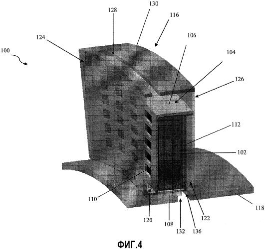 Конформный очищающий фильтр разделяющегося плоского воздушного потока