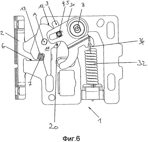 Крепежное устройство для закрепления передней панели на выдвижном ящике