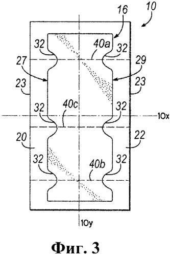 Одноразовое абсорбирующее изделие со связанными боковыми областями и связанные способы