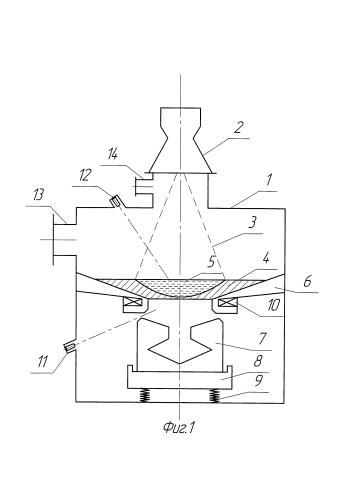 Способ и устройство электронно-лучевого переплава металла с донным сливом для формирования отливок сложной конфигурации