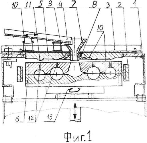 Способ вакуумирования литейных форм и устройство для его осуществления