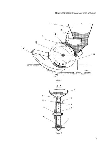 Пневматический высевающий аппарат