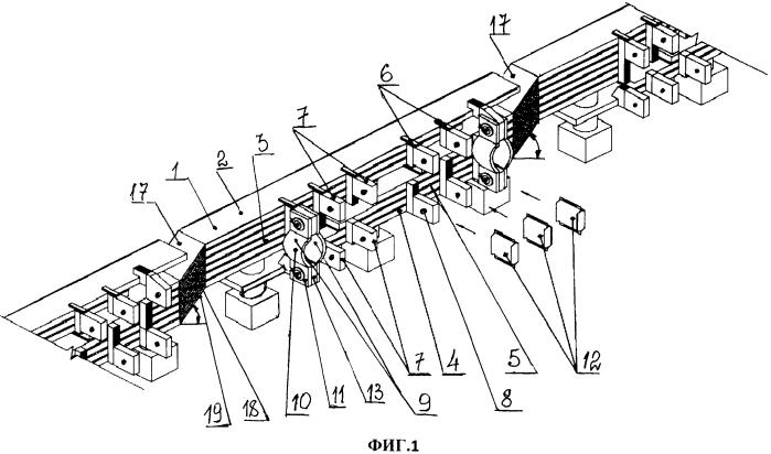 Ошиновка электролизера для получения магния и хлора