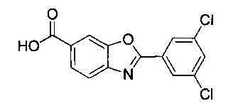 Твердые формы ингибитора диссоциации транстиретина