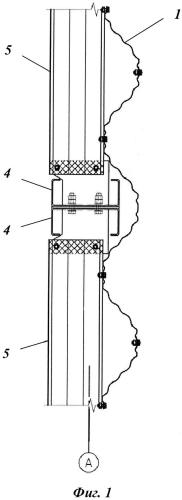 Бескаркасное здание с высотой продольных несущих и торцевых стен до 25 метров