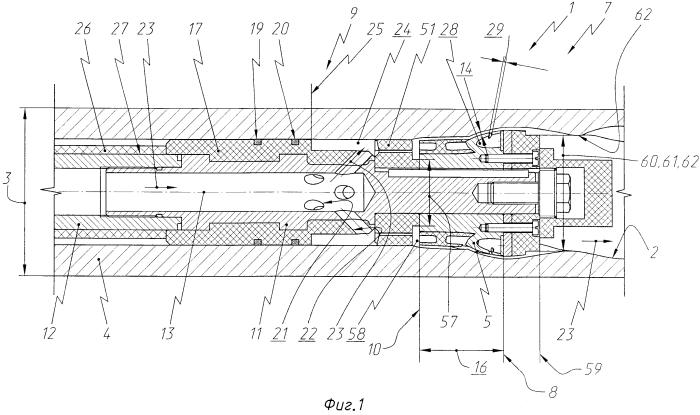 Электродный блок для электрохимической обработки винтового зубчатого профиля в отверстии трубчатой заготовки