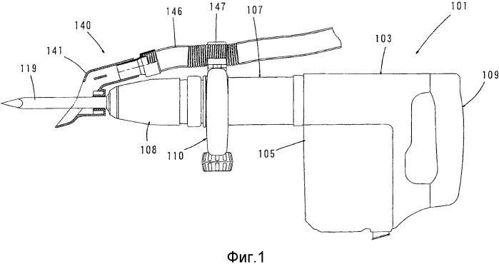 Пылеулавливающее устройство и ударный инструмент