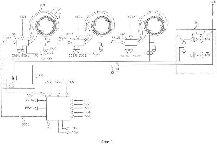 Инжектор для применения в системе дозирования смазочного масла для цилиндров в цилиндрах больших дизельных двигателей