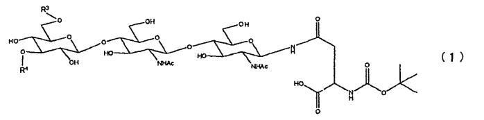Способ получения гликопептида, имеющего сиалированную сахарную цепь, и способ получения производного сиалилгликоаспарагина