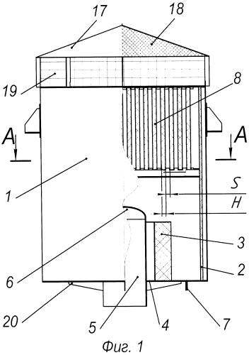 Глушитель шума выхлопной струи пара (варианты)