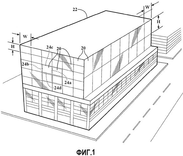 Сборные модули для строительной конструкции