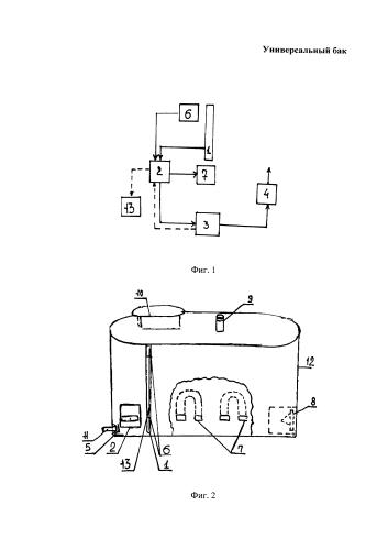 Бак для перевоза и кратковременного хранения воды