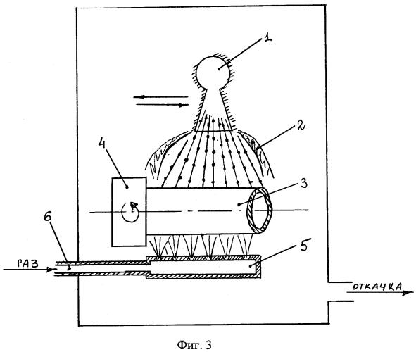 Способ нанесения покрытия плазменным напылением в динамическом вакууме