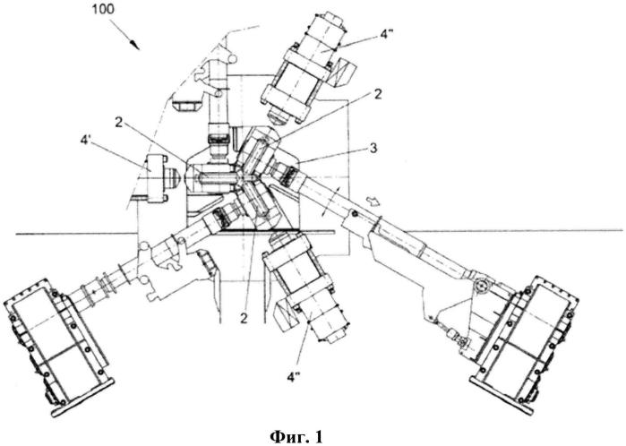 Система управления гидравлическими узлами прокатного стана для материалов стержневой формы