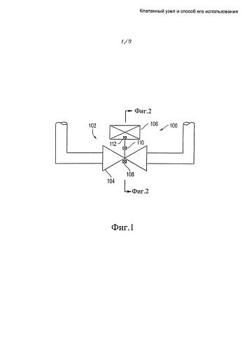 Клапанный узел и способ его использования