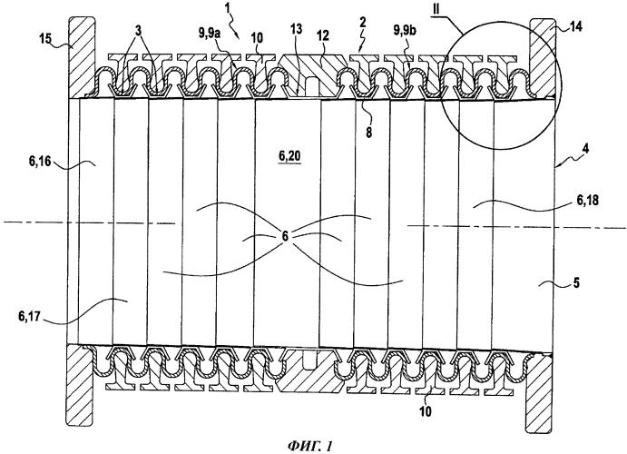 Трубный элемент, обеспечивающий уменьшенный перепад давления