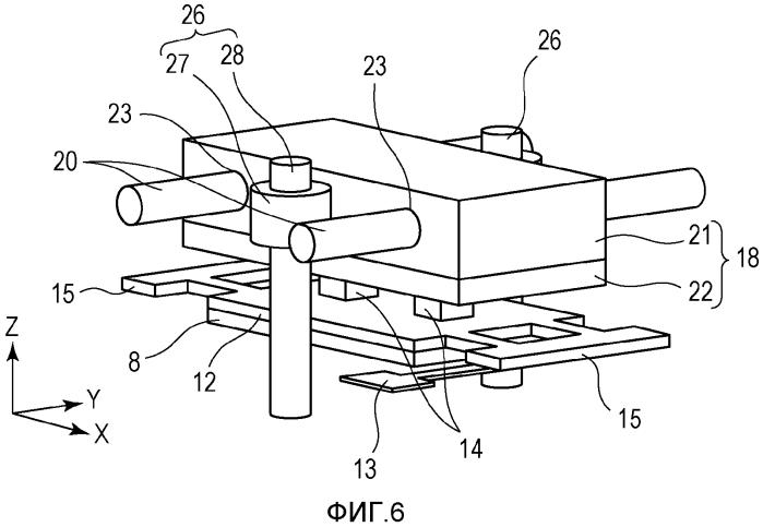 Устройство привода вибрационного типа, устройство двухмерного привода, устройство коррекции размытости изображения, сменный объектив, устройство захвата изображения и автоматический предметный столик
