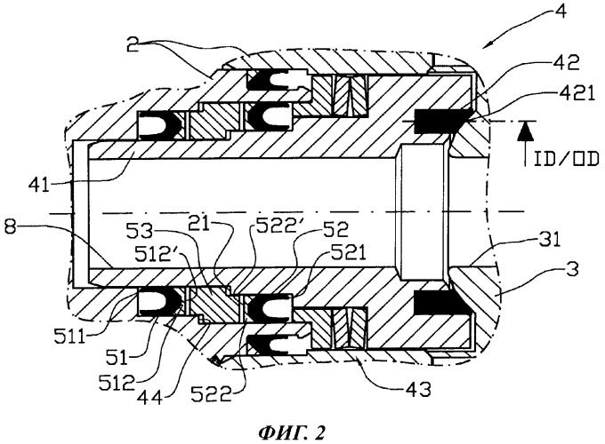 Уплотнительное устройство для клапана